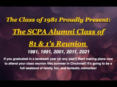 Class of 1981 and 1's Reunion
